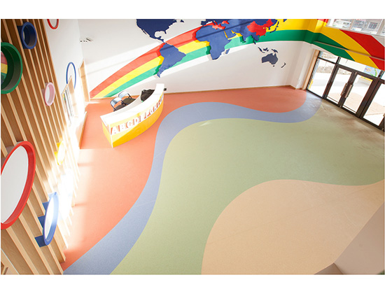 PVC地板幼儿园专用